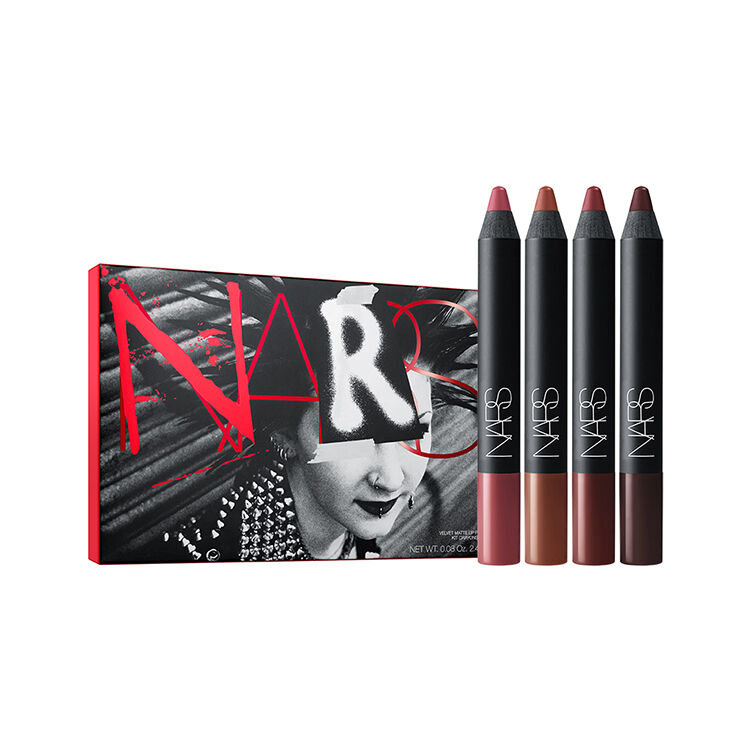 Set de crayons pour les lèvres Velvet Matte Manic, NARS Palettes lèvres