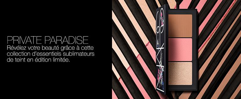 Private Paradise - Révélez votre beauté grâce à cette collection d'essentiels sublimateurs de teint en édition limitée.